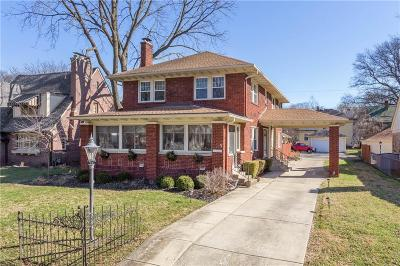 Indianapolis Single Family Home For Sale: 5131 North Delaware Street