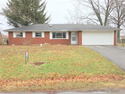 Alexandria IN Single Family Home For Sale: $89,900