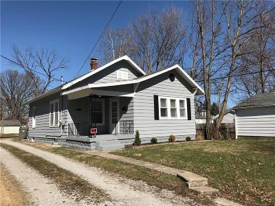 Indianapolis Single Family Home For Sale: 5956 Beechwood Avenue