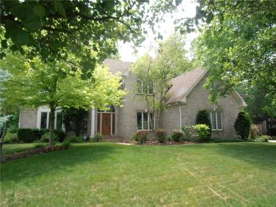 Fishers Single Family Home For Sale: 9890 Sugarleaf Place