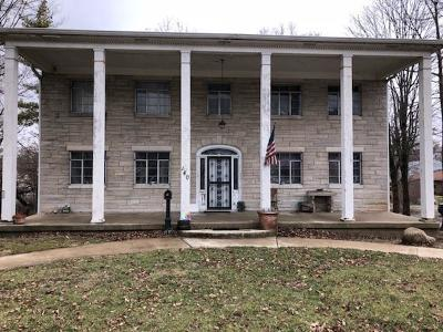 Plainfield Single Family Home For Sale: 140 North Center Street