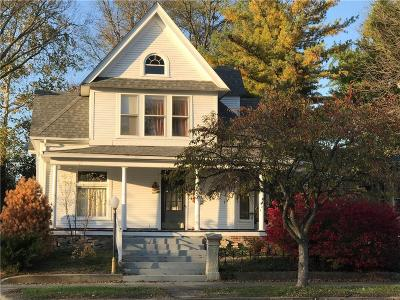 Greenfield Single Family Home For Sale: 310 West Main Street