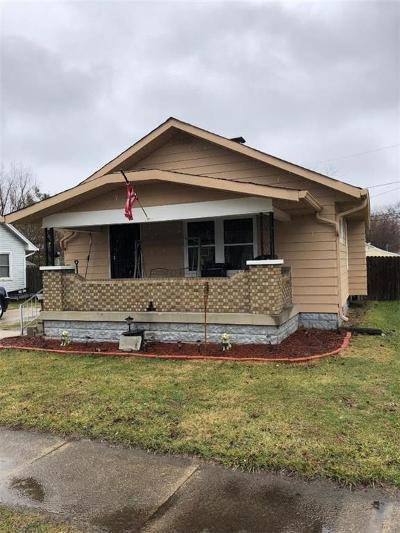 Indianapolis Single Family Home For Sale: 322 Barton Avenue