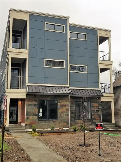 Indianapolis Condo/Townhouse For Sale: 908 Woodlawn Avenue