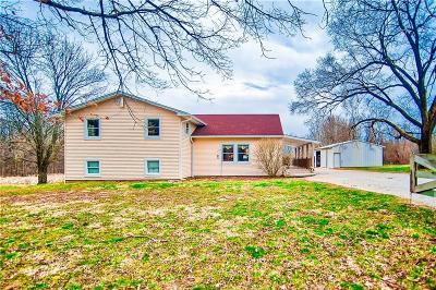 Owen County Single Family Home For Sale: 1466 South Cataract Road