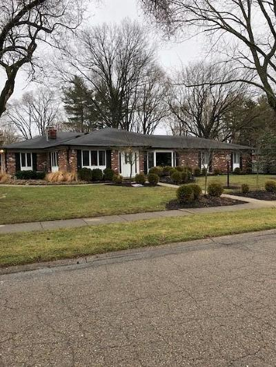 Indianapolis Single Family Home For Sale: 8095 Lieber Road
