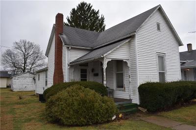 Shelbyville Single Family Home For Sale: 217 Howard Street