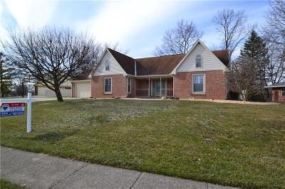 Greenfield Single Family Home For Sale: 1310 Sherwood Drive