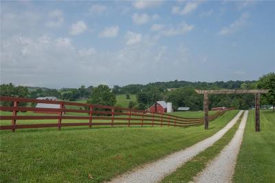 Bloomington Farm For Sale: 6000 & 6140 South Victor Pike S
