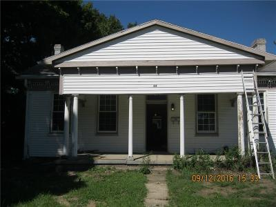 Brownsburg Single Family Home For Sale: 44 West Main Street