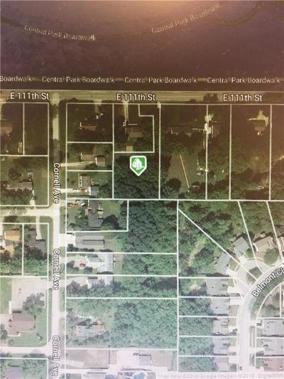 Indianapolis Residential Lots & Land For Sale: 835 East 111th Street