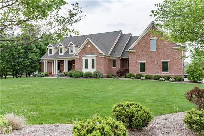 Zionsville Single Family Home For Sale: 55 Clifden Pond Road