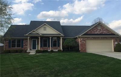 Greenwood Single Family Home For Sale: 5284 Red Hawk Lane