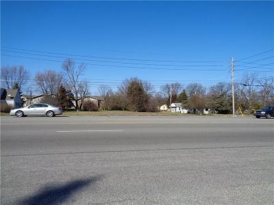 Indianapolis Commercial Lots & Land For Sale: 6406 Rockville Road