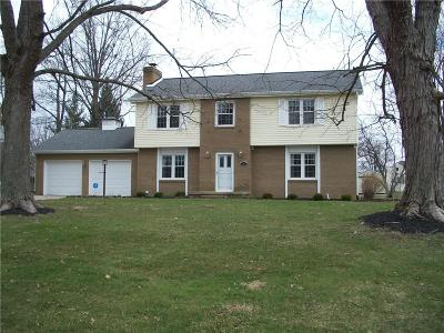 Greencastle IN Single Family Home For Sale: $214,900