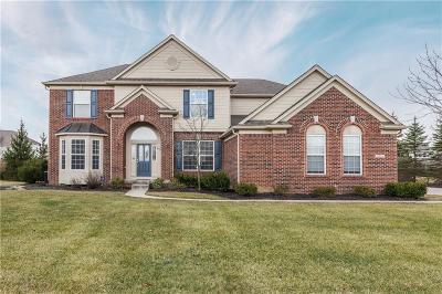 Zionsville Single Family Home For Sale: 9355 Cobblestone Court