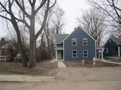 Indianapolis Single Family Home For Sale: 1115 West 37th Street