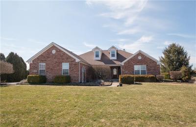 Brownsburg Single Family Home For Sale: 3646 Meadowlark Lane