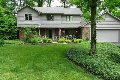 Indianapolis Single Family Home For Sale: 9831 Carefree Drive