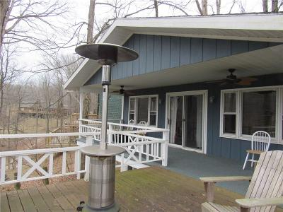 Parke County Single Family Home For Sale: 633 North Cove