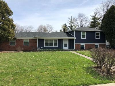 Carmel, Westfield Single Family Home For Sale: 871 Emerson Road
