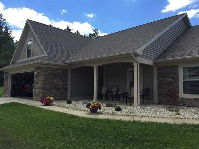 Delaware County Single Family Home For Sale: 4209 West Windy Meadows Court
