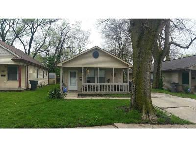 Indianapolis Single Family Home For Sale: 928 Lynn Street