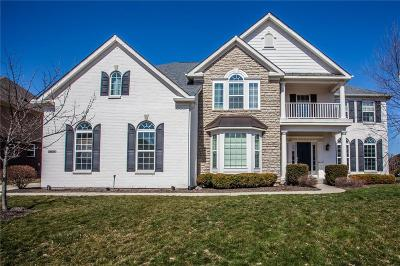 Carmel Single Family Home For Sale: 2632 Twin Lakes Drive