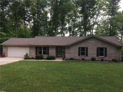 Parke County Single Family Home For Sale: 7967 East Oak Dr