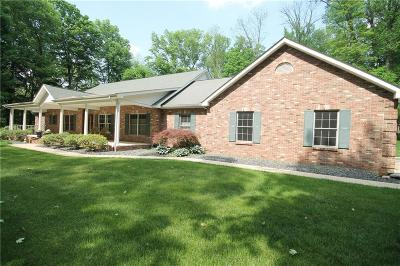 Single Family Home For Sale: 10110 South Auburn Hills Drive