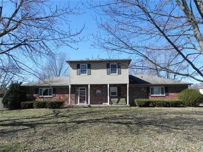 Marion County Single Family Home For Sale: 6140 South Franklin Road