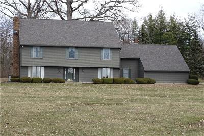 Delaware County Single Family Home For Sale: 7200 North Nebo Road