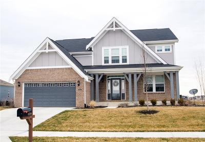 McCordsville Single Family Home For Sale: 6354 West Riverside Road