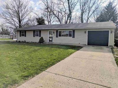 Delaware County Single Family Home For Sale: 3901 North Vernon Drive