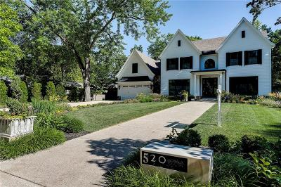 Indianapolis Single Family Home For Sale: 520 East 81st Street