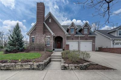 Zionsville Single Family Home For Sale: 6740 West Stonegate Drive