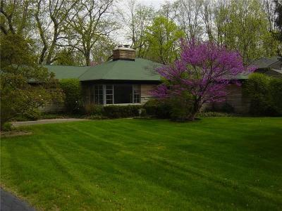 Indianapolis Single Family Home For Sale: 7411 Central Avenue
