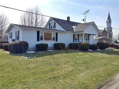 Franklin County Single Family Home For Sale: 2198 County Line Road