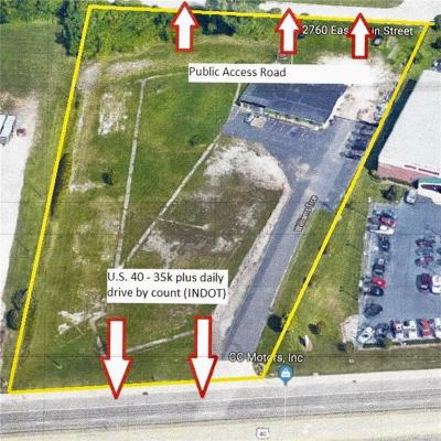 Plainfield Commercial Lots & Land For Sale: 2760 East Main Street