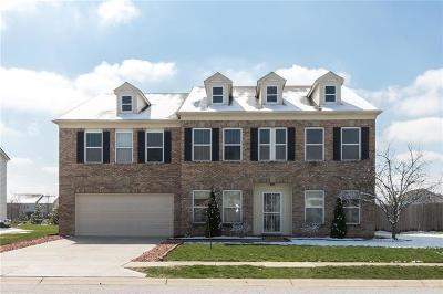 Brownsburg Single Family Home For Sale: 10675 Ballard Drive