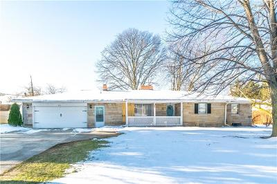 Greenwood Single Family Home For Sale: 913 Fry Road