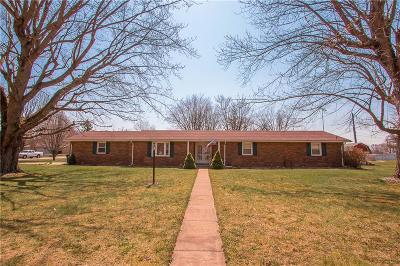Delaware County Single Family Home For Sale: 13001 West Council Road