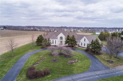 Zionsville Single Family Home For Sale: 4400 West 141st Street