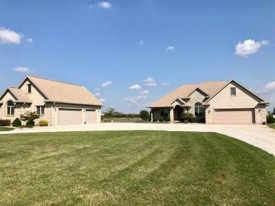 Delaware County Single Family Home For Sale: 9000 North County Road 925 W