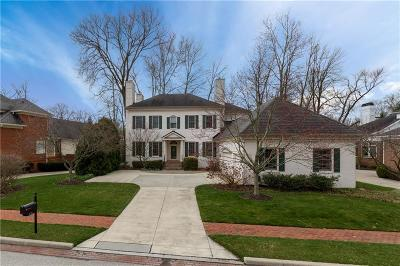 Indianapolis Single Family Home For Sale: 4135 Heyward Lane
