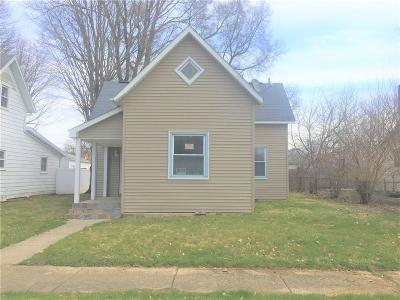 Anderson Single Family Home For Sale: 2626 Chase Street