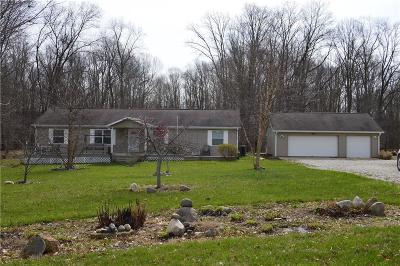 Putnam County Single Family Home For Sale: 326 East County Road 1125 S