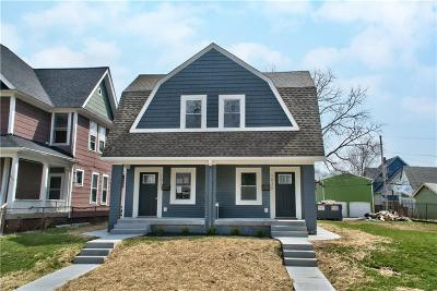 Indianapolis Single Family Home For Sale: 1033 Dawson Street