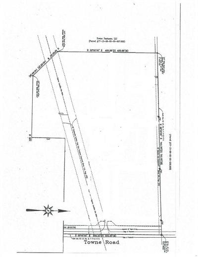 Sheridan, Fortville, Carmel, Noblesville, Atlanta Residential Lots & Land For Sale: 9930 Towne Road
