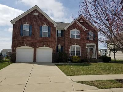 Fishers Single Family Home For Sale: 12394 Brean Way